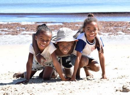 Pour beaucoup denfants, cest la seule journée à la plage de toute lannée
