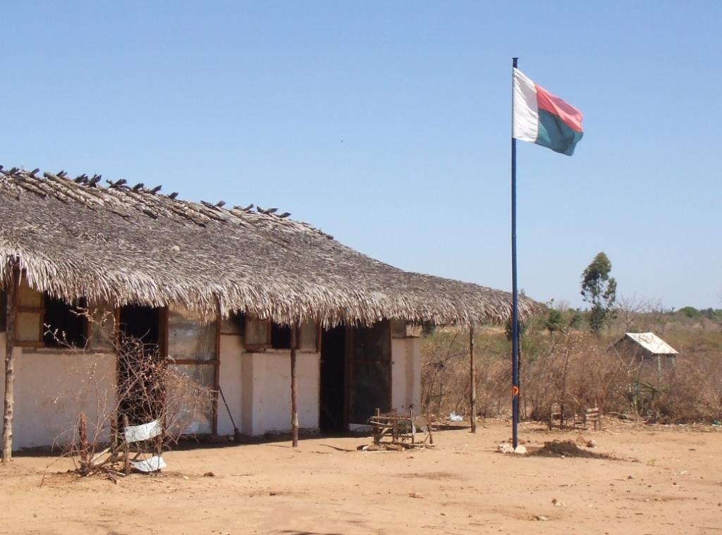 L'école privée Mahavelo, au centre du quartier